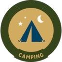 Camping trail badge