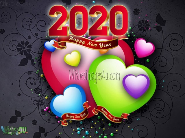 New Year 2020 Love Photo Greetings Download HD