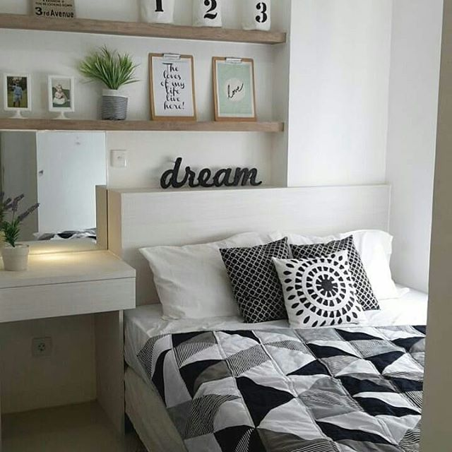 Dekorasi Kamar Tidur Cantik Minimalis Elegan - Rumah ...