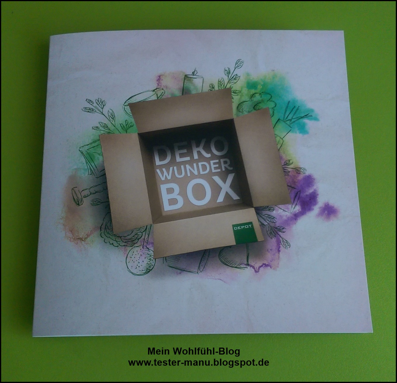 Mein wohlf hl blog depot deko wunder box m rz 2016 for Blog deko