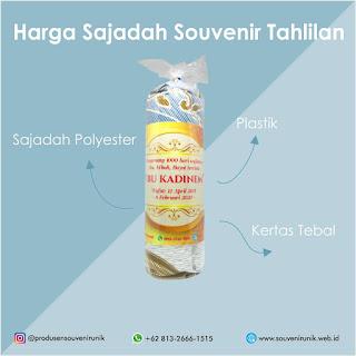 UPDATE!!! Cek Harga Sajadah Souvenir Tahlilan Hanya Disini!