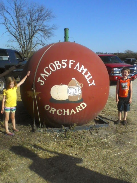 Jacob's Apple Orchard in New Castle, Indiana.
