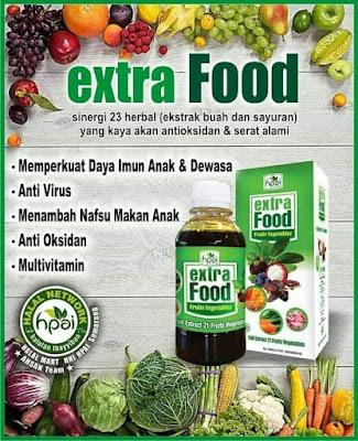 Extrafood Mengandung Sumber Tenaga Untuk Spirit