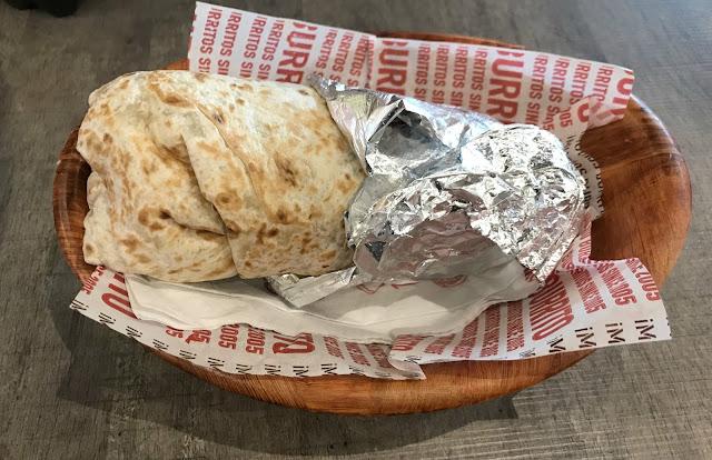 classic burrito at Barburrito