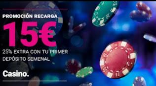 Goldenpark Casino promo recarga hasta 29-11-2020