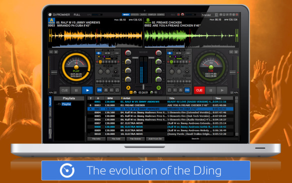 Dj promixer-Δωρεάν πρόγραμματα dj: μίξη μουσικής