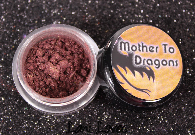 Notoriously Morbid Protective Aggressor Eyeshadow Swatches & Review