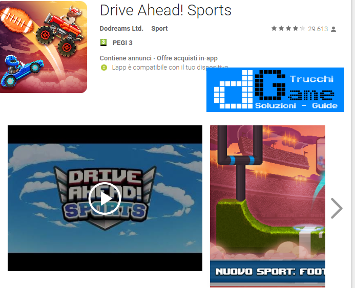 Trucchi Drive Ahead! Sports Mod Apk Android v1.6.3