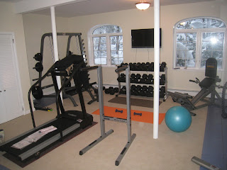 how to create the perfect space for training at home