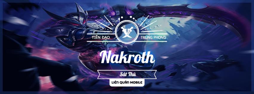 Ảnh Bìa Tướng Nakroth – Liên Quân Mobile