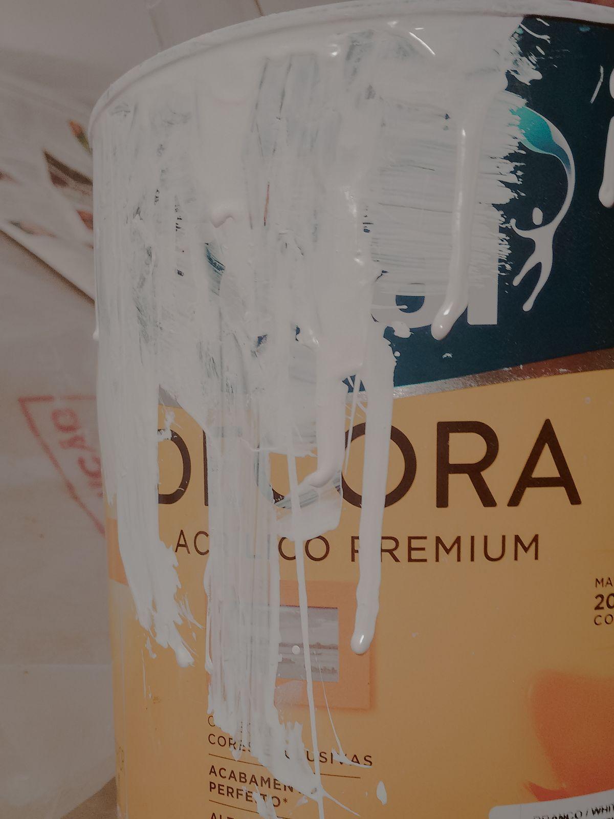 lata tinta branca coral decora