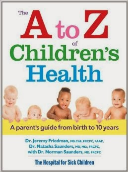 THE A TO Z OF CHILDREN'S HEALTH cover