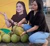 Video Viral, Penjual Es Kelapa Muda Cantik Ditonton Lebih dari 17 Juta