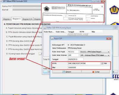 Input PBK di Aplikasi e-Faktur