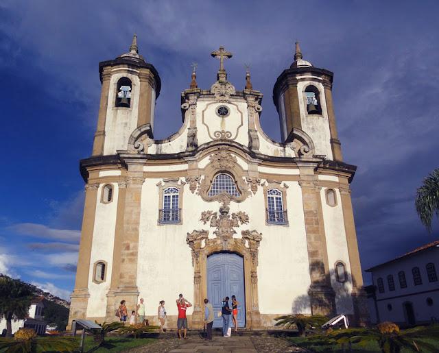 Top 5 igrejas para visitar em Ouro Preto - Igreja Nossa Senhora do Carmo