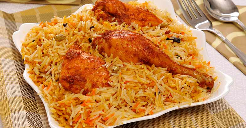 One of the most famous biryanis in the world really, the Hyderabadi biryani is one of the more spicier variations you will come across with a rich blend of spices, chillies and well cooked meat.