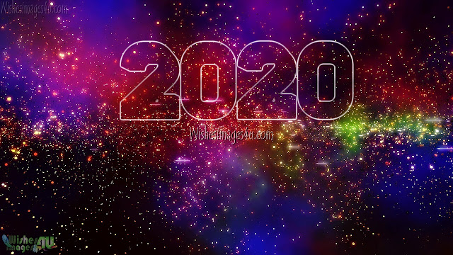 Happy New Year 2020 Sparkling HD Desktop/PC Background Images