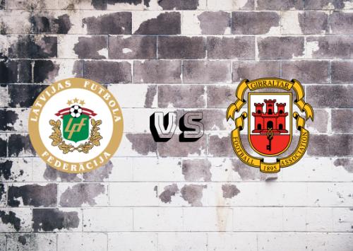 Letonia vs Gibraltar  Resumen