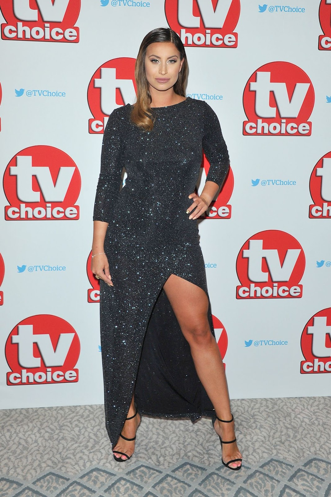 Ferne Mccann At TV Choice Awards In London