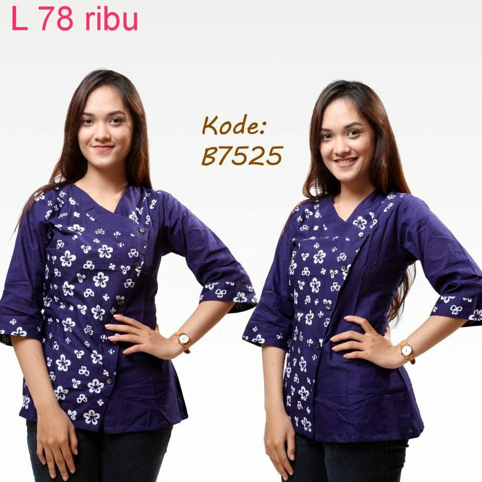 Baju Batik Guru Perempuan: Model Baju Batik Guru