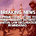 BREAKING: Supreme Court sides with President Duterte; Mindanao Martial Law legal
