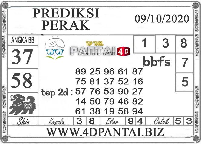 PREDIKSI TOGEL PERAK PANTAI4D 09 OKTOBER 2020
