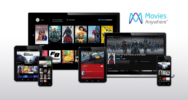 "Movies Anywhere - ""Available on an array of platforms"""