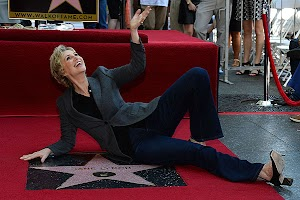 Jane Lynch has received a star on the Walk of Fame