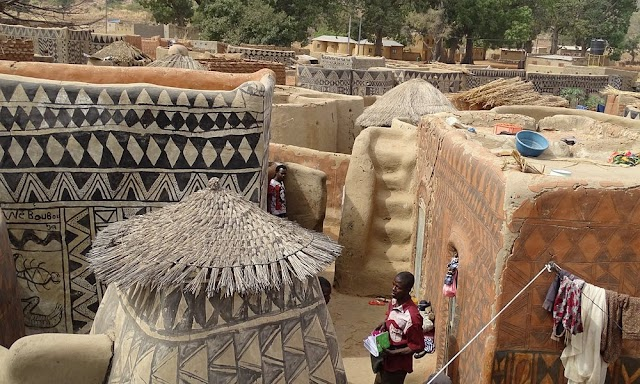 The village preserves culture on each wall