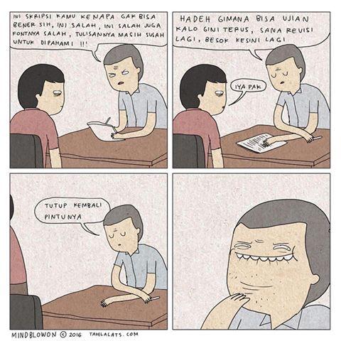 Kumpulan Komik Strip Lucu Tahilalats #6