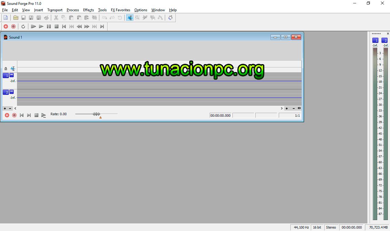 Sony Sound Forge Pro Imagen