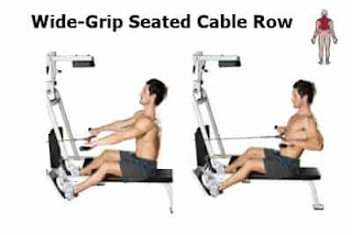 1. Wide Seated Row