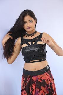 Shriya Vyas in a Tight Backless Sleeveless Crop top and Skirt 53.JPG