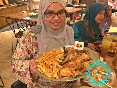 nando's, mango & lime, peri brownies, caramel cheesecake, sedap tak makan di nando's, nando's terdekat, berhampiran, apa yang best di nando's, recommended, gurney plaza, melt in your mouth, how does it taste, peri-peri, sweet potato chips, algarve salad, mash potato, viral, makan sedap, makan murah,