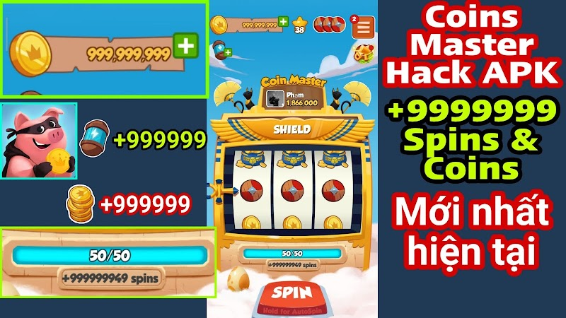 Coin Master MOD APK Unlimited Spin & Coins 2020 Latest
