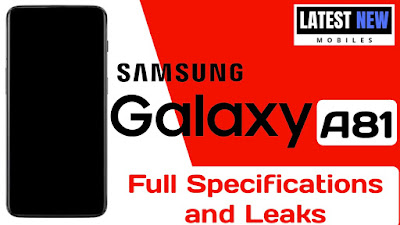 Samsung Galaxy A81 full Specifications