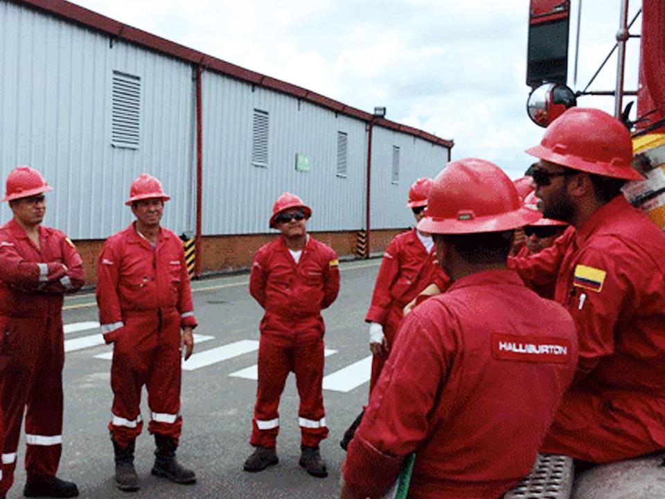Halliburton retiene información personal de sus trabajadores sabotea el proceso de negociaciones