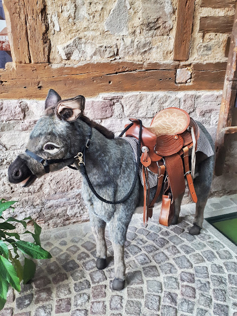 Brothers Grimm donkey from steinau an der strasse