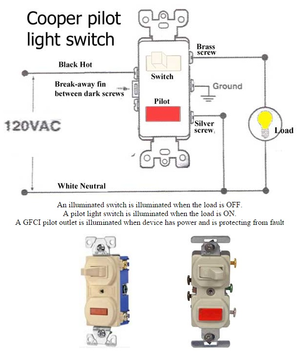 How to Wire Pilot Light Switch | Non-Stop Engineering When Wiring A Light Switch on