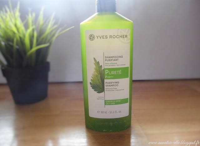 shampoing pureté Yves rocher
