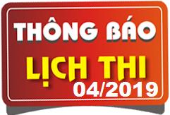 Lịch thi sát hạch lái xe ô tô B1, B2, C, D, E mới nhất tháng 04/2019 tại Hà Nội