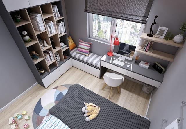 Tư vấn thiết kế căn hộ 69m2 độc đáo và ấn tượng - H6