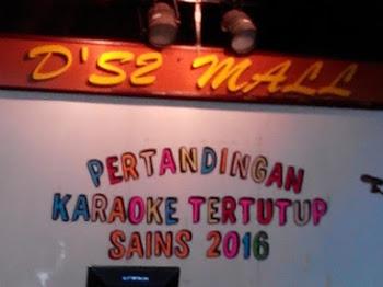 Pertandingan Karaoke Tertutup SAINS 2016