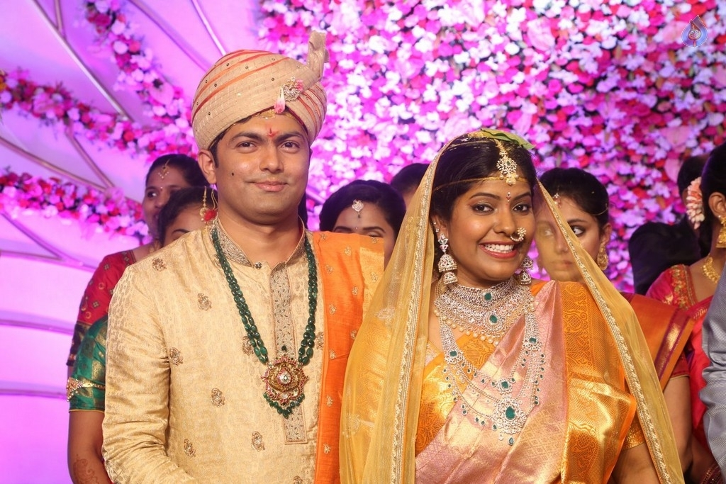 Lavish Wedding of Producer Shyam Reddy's Daughter Maithri
