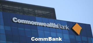 Australia ASX: CBA CommBank stock price chart