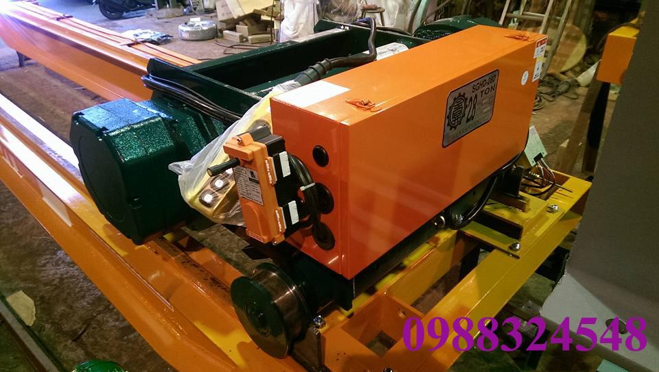 Pa lăng điện cáp Black Bear SGHD-280 2.8 tấn
