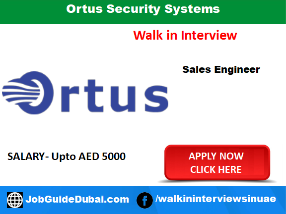 Ortus Security Systems career for system engineer linux and windows jobs in Dubai
