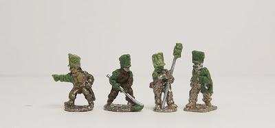Old Guard foot artillery crews