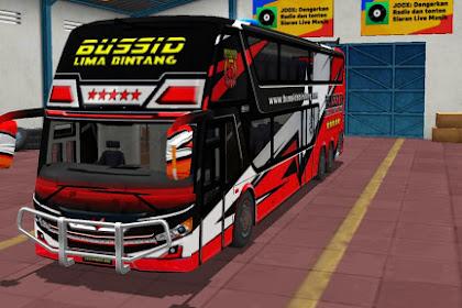 LIVERY BUSSID BUS SDD - VIP 5BINTANG