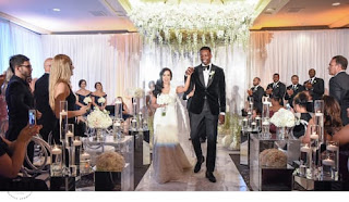 Jeff Green And Stephanie Hurtado Wedding Picture